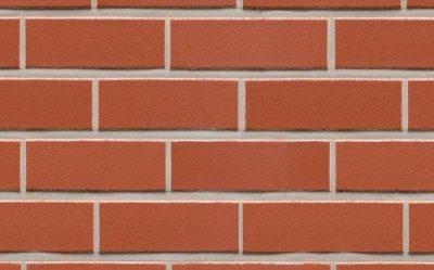 Клинкерная фасадная плитка Feldhaus Klinker R400 carmesi liso, 240*71*9 мм