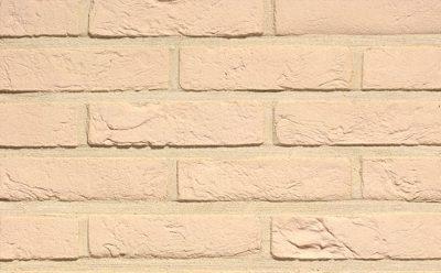 Кирпич облицовочный ручной формовки Terca Branco (65mm Forum White), 215*102*65 мм