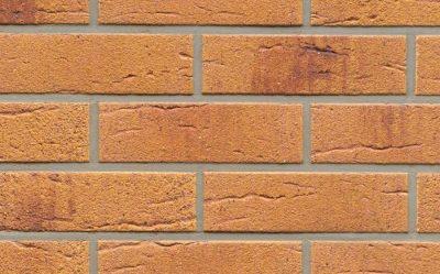 Клинкерная фасадная плитка Feldhaus Klinker R287 amari viva rusticoi aubergine, 240*71*9  мм