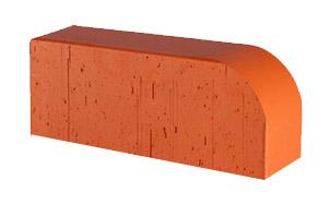 Кирпич радиусный полнотелый Lode Janka F15 гладкий, 250*85*65 мм