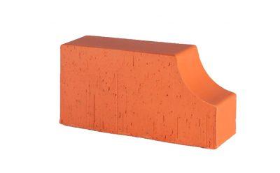 Кирпич радиусный полнотелый Lode Janka F13 гладкий, 250*120*65 мм