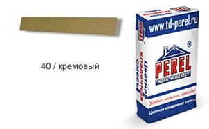 Затирка для швов PEREL RL 5440 кремовая зимняя, 25 кг