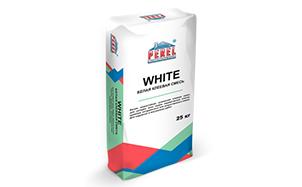 Клеевая смесь PEREL White 5317 белая зимняя, 25 кг