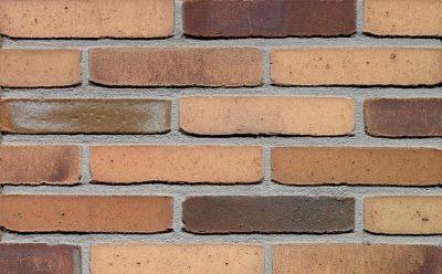Кирпич облицовочный ручной формовки Terca Hoornbloem (65mm Clifton Grey Flash EF), 215*102*65 мм