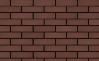 Клинкерная фасадная плитка KING KLINKER Dream House Коричневый (03) гладкая RF10, 250*65*10 мм