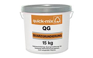 Кварцевый грунтовочный раствор quick-mix QG, 15 кг