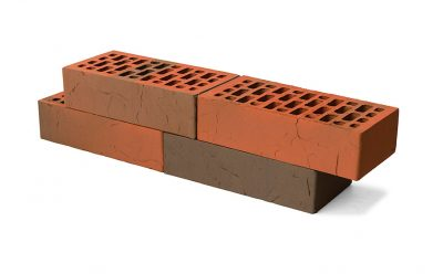 Кирпич лицевой керамический BRAER пустотелый баварская кладка терра, 250*120*65 мм