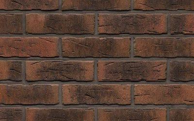 Фасадная плитка ручной формовки Feldhaus Klinker R685 sintra carmesi nelino, 240*71*14 мм