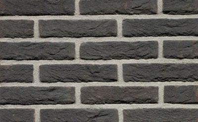 Кирпич облицовочный ручной формовки Terca Zwart, 210*100*50 мм