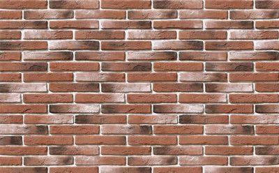 Облицовочный камень White Hills Остия брик цвет 383-70