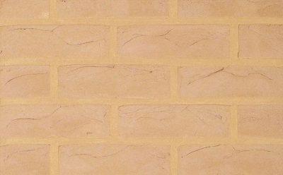 Кирпич облицовочный ручной формовки Terca Amarillo (65mm Bramshaw Buff), 215*102*65 мм