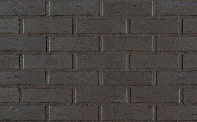 Кирпич клинкерный пустотелый Roben Aarhus anthrazit гладкий, 240*115*71 мм