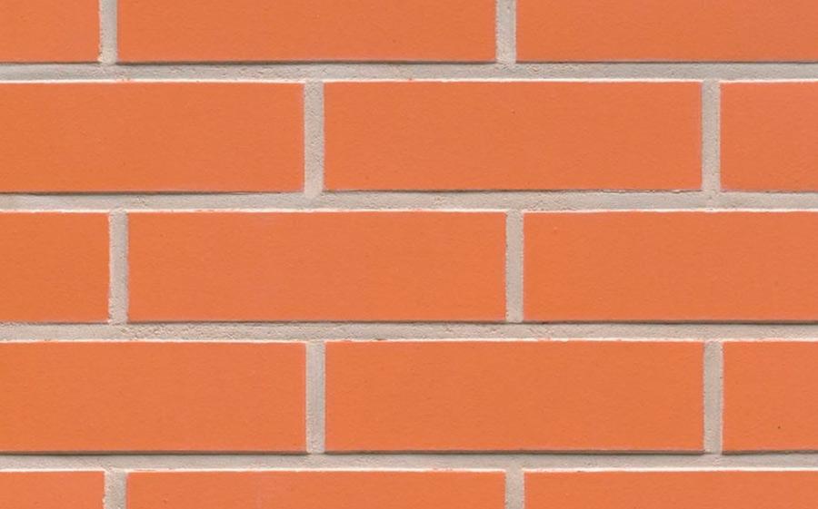 Клинкерная фасадная плитка Feldhaus Klinker R220 terracotta liso, 240*71*9  мм