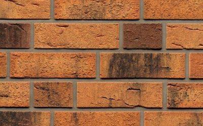 Клинкерная фасадная плитка Feldhaus Klinker R286 nolani viva rustico carbo, 240*71*9  мм