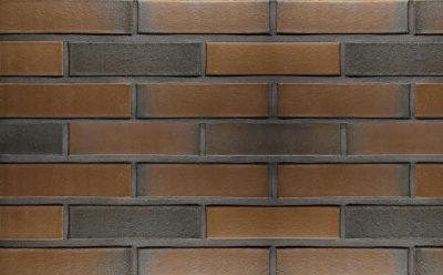 Кирпич облицовочный керамический пустотелый Terca Terra flame редуцированный гладкий, 250*85*65 мм