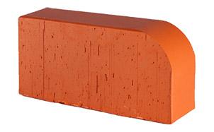 Кирпич радиусный полнотелый Lode Janka F15 гладкий, 250*120*65 мм