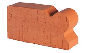 Кирпич радиусный полнотелый Lode Janka F20 гладкий, 250*120*65 мм