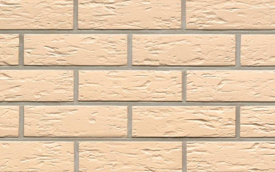 Клинкерная фасадная плитка Feldhaus Klinker R140 perla senso, 240*71*9  мм