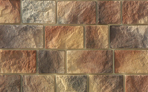 Облицовочный искусственный камень White Hills Шинон цвет 410-40