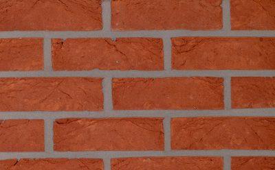 Кирпич облицовочный ручной формовки Terca Haywood Red (WFD ECO PAEPESTEEN), 215*65*65 мм