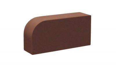 Кирпич лицевой радиусный Шоколад
