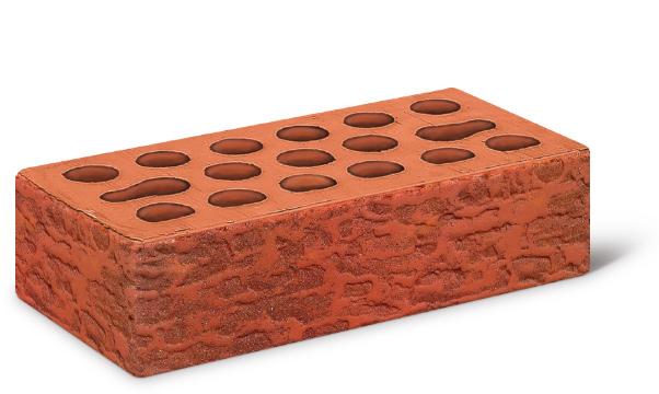 Кирпич лицевой 1,0 Russet wood (накатка Кора+посыпка Амфиболит)