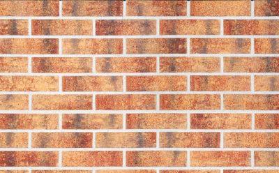 Клинкерная фасадная плитка KING KLINKER Old Castle Rainbow brick (HF15) под старину NF10, 240*71*10 мм