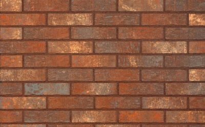 Клинкерная фасадная плитка KING KLINKER Old Castle Bastille wall (HF16) под старину NF10, 240*71*10 мм