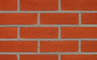Кирпич облицовочный ручной формовки Terca Oranje (65mm DORCHESTER RED STOCK), 215*102*65 мм