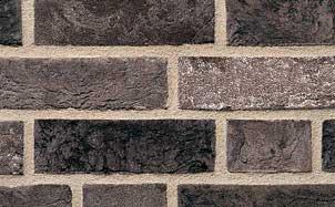 Кирпич облицовочный ручной формовки Terca Cinder Coal-White Grijs-Zwart-Wit (65MM WFD CINDER COAL WHITE), 215*102*65 мм