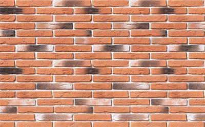 Облицовочный камень White Hills Остия брик цвет 380-50