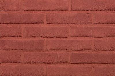 Кирпич облицовочный ручной формовки Terca Donkerrood (65mm Forum Burgundy), 215*102*65 мм