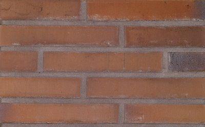 Кирпич облицовочный ручной формовки Terca Linnaeus Quercus (dark brown), 288*88*48 мм