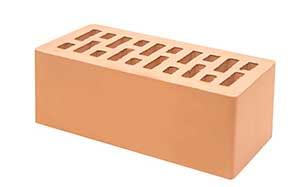 Кирпич клинкерный Тербунский гончар янтарный камень гладкий 250*85*65 мм (г. Липецк)
