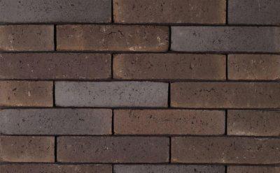 Кирпич облицовочный ручной формовки Terca Kogelbloem (Broadway Dark Multi), 215*102*65 мм