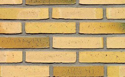 Кирпич облицовочный ручной формовки Terca Teunisbloem (50mm Elmbridge Yellow Multi), 210*100*50 мм