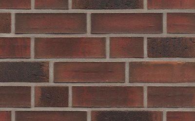 Клинкерная фасадная плитка Feldhaus Klinker R882 baro ardor carbo, 240*71*9 мм