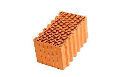 Блок керамический поризованный Porotherm 44 М100 12,35 NF,
