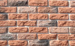 Облицовочный камень White Hills Брюгге брик цвет 315-50