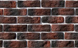 Облицовочный камень White Hills Брюгге брик цвет 315-70
