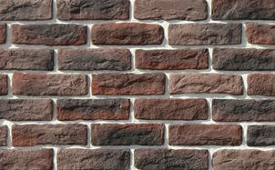 Облицовочный камень White Hills Брюгге брик цвет 316-40