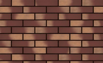 Клинкерная фасадная плитка KING KLINKER Dream House Золотая осень (13) гладкая NF, 240*71*10 мм