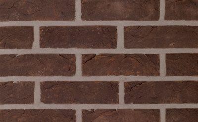 Кирпич облицовочный ручной формовки Terca Bowland (WFD ECO NERO ZWART MANGAAN), 215*65*65 мм
