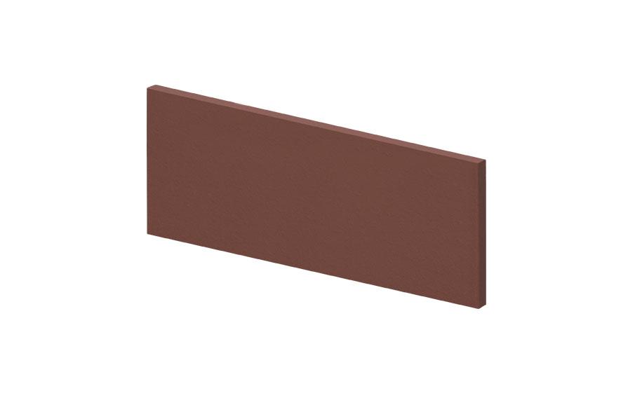 Клинкерная напольная плитка-подступень KING KLINKER Коричневый натура (03), 150*245*12 мм