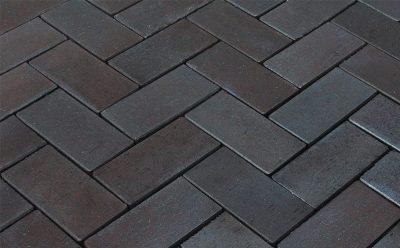 Тротуарная клинкерная брусчатка Penter Dresden, 200x100x52 мм