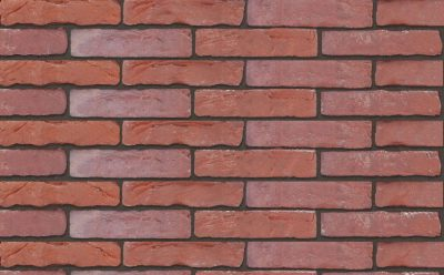 Кирпич облицовочный ручной формовки Terca Oranje rood (SF 43 ORANJE-ROOD), 258*90*43 мм