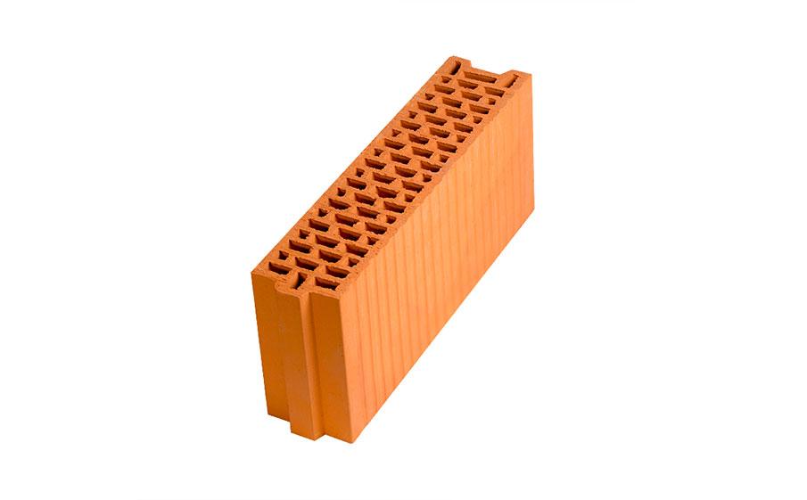 Блок керамический поризованный Porotherm 12 M100 6,74 NF,