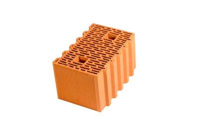 Блок керамический поризованный Porotherm 38 М100 10,67 NF,