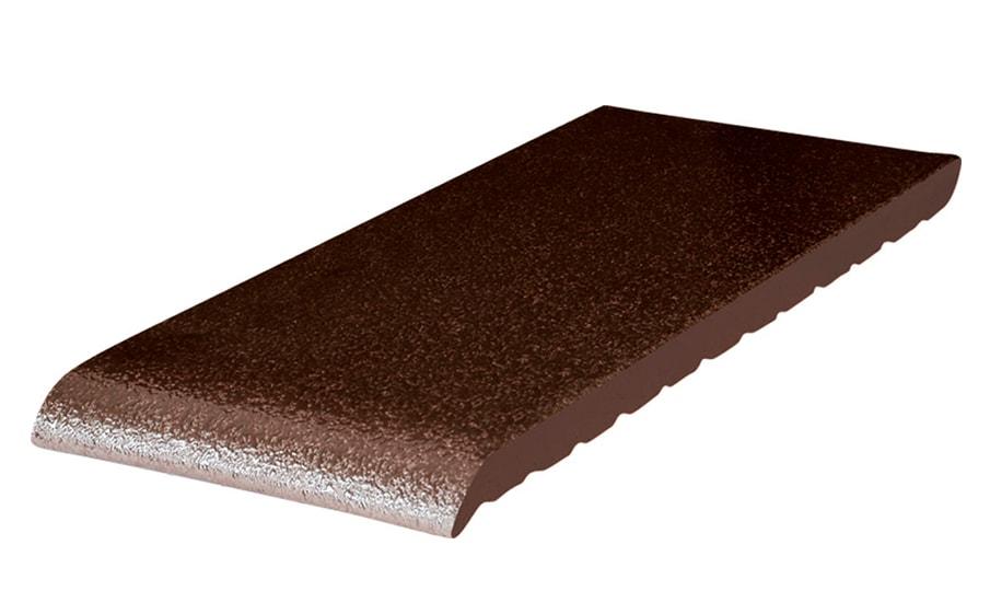 Клинкерный подоконник KING KLINKER коричневый глазурованный (02), 150*120*15 мм