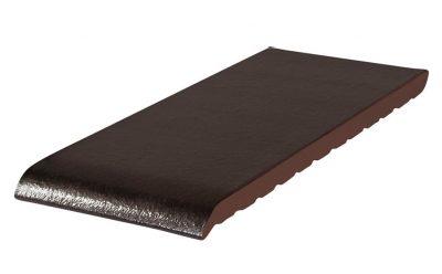 Клинкерный подоконник KING KLINKER ониксовый черный (17), 150*120*15 мм